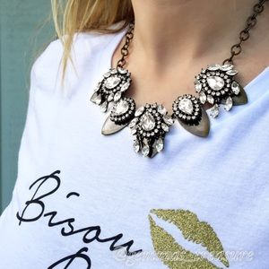 Bisou Bling Statement Necklace